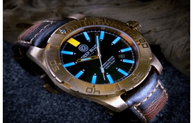 DAYNIGHT BRONZE T-100 TRITIUM AUTOMATIC