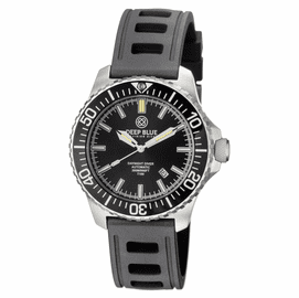 DAYNIGHT  DIVER T-100  AUTOMATIC – SS BACK  DIVER HYDRO 91 NATRUAL RUBBER STRAP