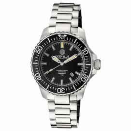 DAYNIGHT  DIVER T-100  AUTOMATIC – SS BLACK DIVER