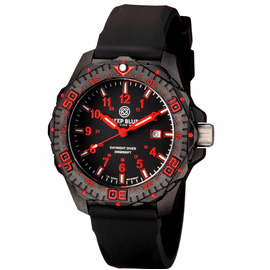 DAYNIGHT DIVER TRITIUM BLACK/RED