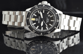 DAYNIGHT MIL T-100 TRITIUM TUBES AUTOMATIC STRAP AND BRACELET