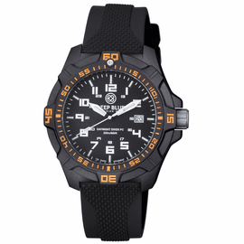 DAYNIGHT PC TRITIUM DIVER WATCH  BLACK/ORANGE