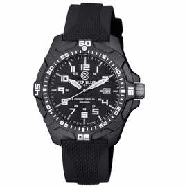 DAYNIGHT PC TRITIUM DIVER WATCH  BLACK/WHITE
