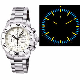 DAYNIGHT RECON 7750 VALJOUX TRITIUM T-100 WHITE