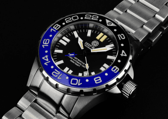 DAYNIGHT RESCUE T-100 TRITIUM GMT SWISS AUTOMATIC