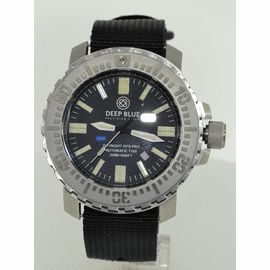 DAYNIGHT T100 OPS PRO MILITARY TRITIUM FLAT TUBES -48MM Stainless On Nylon Zulu
