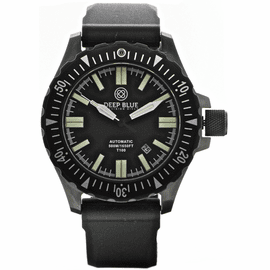 DAYNIGHT T100 OPS TRITIUM FLAT TUBES PVD CASE- Flat Soft Silicon Strap