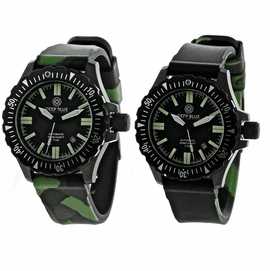 DAYNIGHT T100 OPS TRITIUM FLAT TUBES PVD CASE Reversible Camo Green