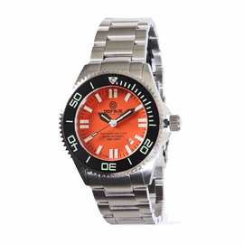 Daynight T100  SS Orange Dial Bracelet