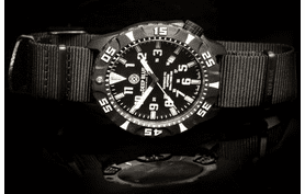DAYNIGHT TRITIUM PC QUARTZ DIVER - FREE COMPASS AND THERMOMETER