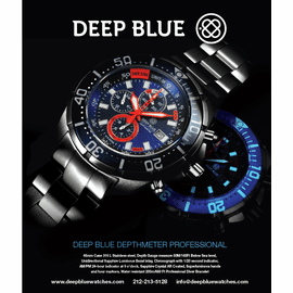 Deep Blue Ad Campaign Holiday 2013