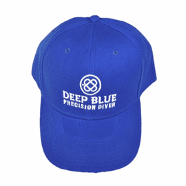 Deep Blue Hat - Light Blue