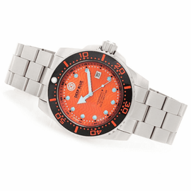DEEP BLUE JUGGERNAUT III AUTOMATIC DIVER ORANGE