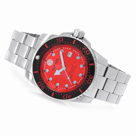 DEEP BLUE JUGGERNAUT III AUTOMATIC DIVER RED