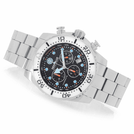 DEEP BLUE JUGGERNAUT III QUARTZ CHRONOGRAPH DIVER COLLECTION