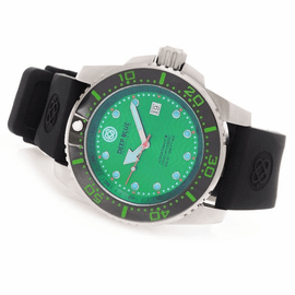 DEEP BLUE JUGGERNAUT III QUARTZ DIVER GREEN