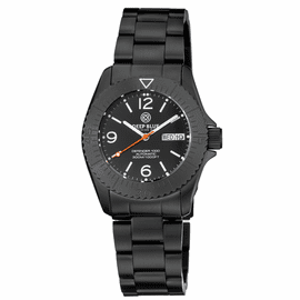 DEFENDER 1000 40MM AUTOMATIC PVD CASE BLACK  DIAL BRACELET
