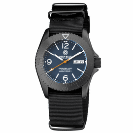 DEFENDER 1000 40MM AUTOMATIC PVD CASE DARK BLUE MATTE  DIAL STRAP
