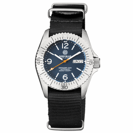 DEFENDER 1000 40MM AUTOMATIC SS CASE DARK BLUE MATTE DIAL STRAP