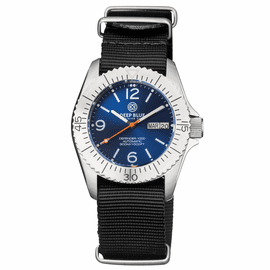 DEFENDER 1000 40MM AUTOMATIC SS CASE DARK BLUE SUNRAY DIAL STRAP