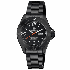 DEFENDER 1000 44MM AUTOMATIC PVD CASE BLACK DIAL BRACELET