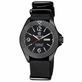 DEFENDER 1000 44MM AUTOMATIC PVD CASE BLACK DIAL STRAP