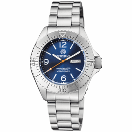 DEFENDER 1000 44MM AUTOMATIC SS CASE DARK BLUE SUNRAY DIAL BRACELET