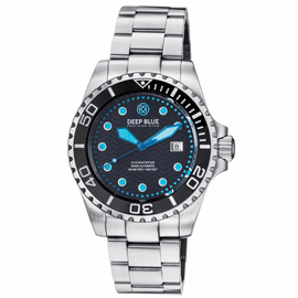 DIVE MASTER 500 SWISS AUTOMATIC DIVER BLACK