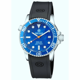 DIVER 1000 AUTOMATIC DIVER BLUE BEZEL BLUE MOTHER OF PEARL  DIAL