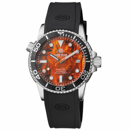 DIVER 1000 AUTOMATIC DIVER BLACK BEZEL � ORANGE ABALONE SHELL DIAL
