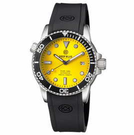 DIVER 1000 AUTOMATIC DIVER BLACK BEZEL YELLOW SUNRAY  DIAL
