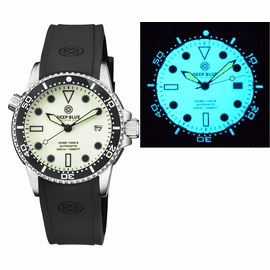 DIVER 1000 AUTOMATIC DIVER BLACK BEZEL YELLOW FULL LUMINOUS DIAL