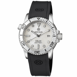 DIVER 1000 AUTOMATIC DIVER SILVER BEZEL WHITE MOTHER OF PEARL   DIAL