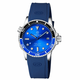 DIVER 1000 II 40MM AUTOMATIC DIVER BLACK/BLUE CERAMIC BEZEL -BLUE SUNRAY DIAL