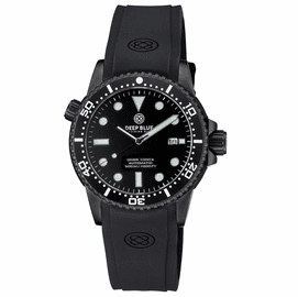 DIVER 1000 II  40MM  AUTOMATIC DIVER  BLACK CERAMIC BEZEL - BLACK DIAL-BLACK SECOND HAND -PVD CASE