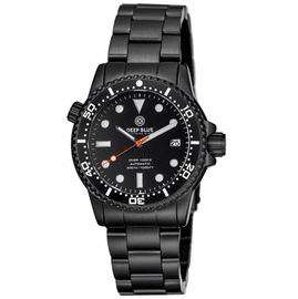 DIVER 1000 II  40MM  AUTOMATIC DIVER  BLACK CERAMIC BEZEL - BLACK DIAL-PVD CASE