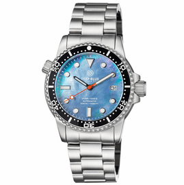 DIVER 1000 II 40MM AUTOMATIC DIVER BLACK CERAMIC BEZEL BLACK MOTHER OF PEARL DIAL
