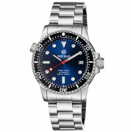 DIVER 1000 II 40MM AUTOMATIC DIVER BLACK CERAMIC BEZEL � DARK BLUE SUNRAY DIAL