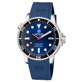 DIVER 1000 II 40MM AUTOMATIC DIVER BLACK CERAMIC BEZEL � DARK BLUE SUNRAY DIAL RED SECOND HAND