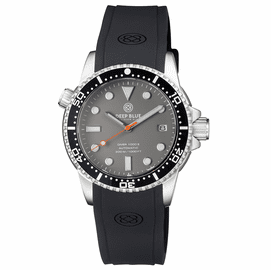 DIVER 1000 II 40MM AUTOMATIC DIVER BLACK CERAMIC BEZEL �GREY MATTE DIAL