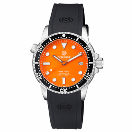DIVER 1000 II 40MM AUTOMATIC DIVER BLACK CERAMIC BEZEL ORANGE MATTE DIAL