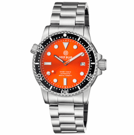 DIVER 1000 II 40MM AUTOMATIC DIVER BLACK CERAMIC BEZEL � ORANGE SUNRAY DIAL