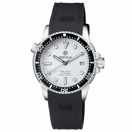 DIVER 1000 II 40MM AUTOMATIC DIVER BLACK CERAMIC BEZEL �WHITE GLOSSY DIAL
