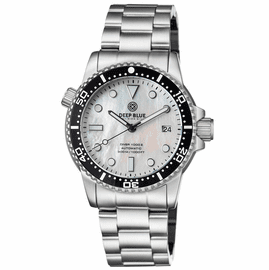 DIVER 1000 II 40MM AUTOMATIC DIVER BLACK CERAMIC BEZEL WHITE MOTHER OF PEARL DIAL