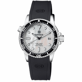DIVER 1000 II 40MM AUTOMATIC DIVER BLACK CERAMIC BEZEL �WHITE MOTHER OF PEARL DIAL