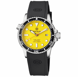 DIVER 1000 II 40MM AUTOMATIC DIVER BLACK CERAMIC BEZEL YELLOW MATTE DIAL