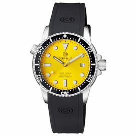 DIVER 1000 II 40MM AUTOMATIC DIVER BLACK CERAMIC BEZEL � YELLOW SUNRAY DIAL