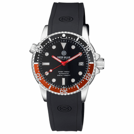 DIVER 1000 II 40MM AUTOMATIC DIVER BLACK/RED CERAMIC BEZEL – BLACK GLOSSY DIAL