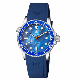 DIVER 1000 II 40MM AUTOMATIC DIVER BLUE CERAMIC BEZEL - BLUE MOTHER OF PEARL DIAL