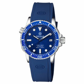 DIVER 1000 II 40MM AUTOMATIC DIVER BLUE CERAMIC BEZEL – DARK BLUE SUNRAY DIAL BLUE  SECOND HAND